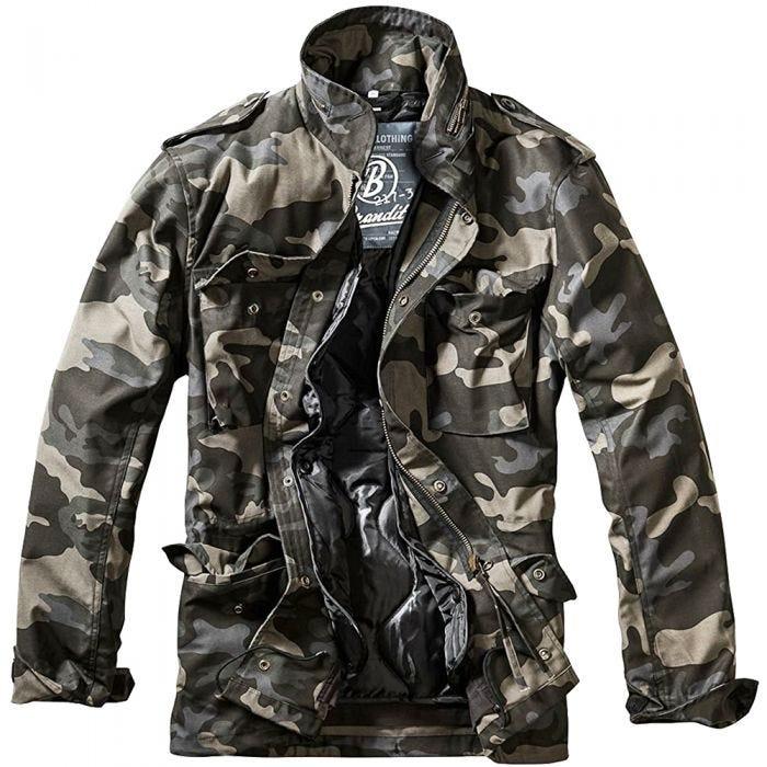 Brandit M-65 Classic Jacket Dark Camo