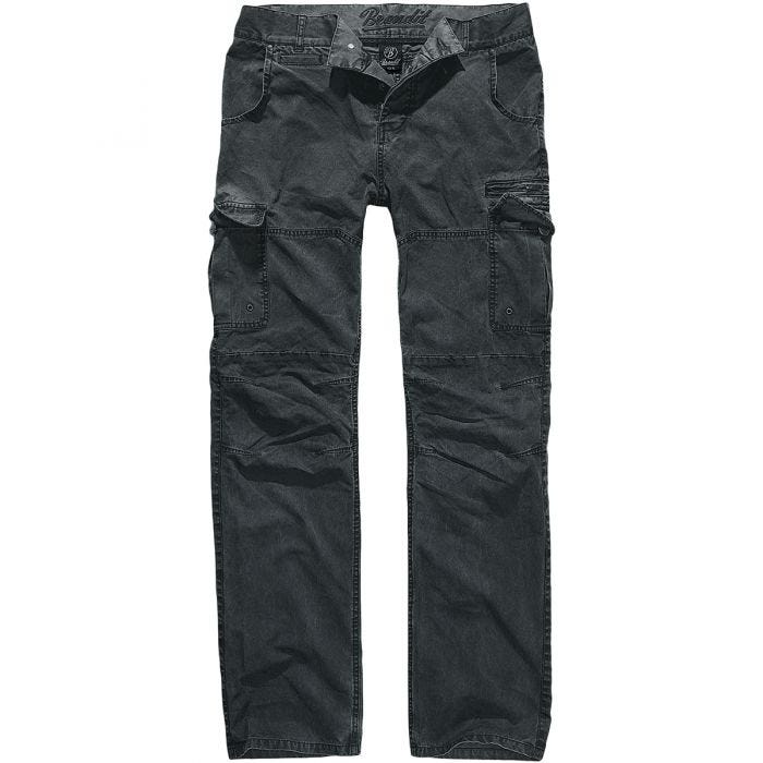 Brandit Rocky Star Trousers Light Black