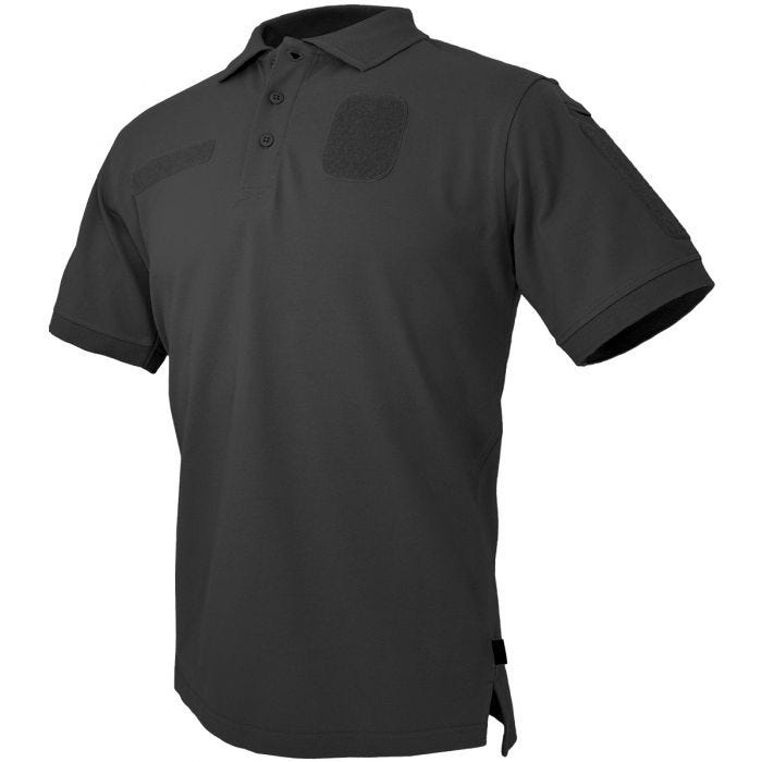 Hazard 4 Loaded ID Centric Modular Patch Polo Shirt Black