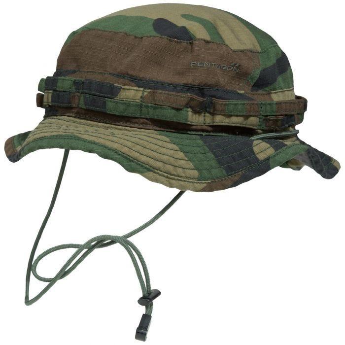 be9196addc Pentagon Babylon Boonie Hat Woodland