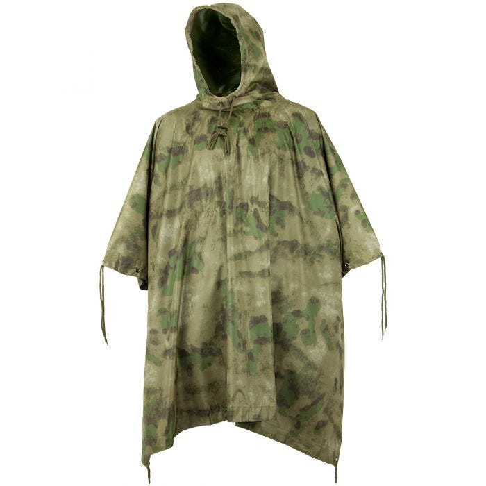 Waterproof Poncho Ripstop MIL-TACS FG