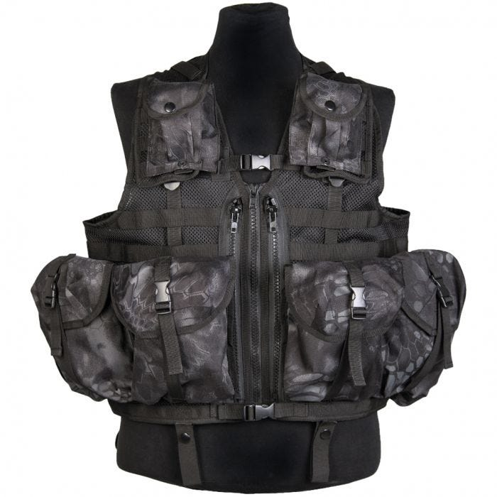 Mil-Tec Tactical Vest Modular System Mandra Night
