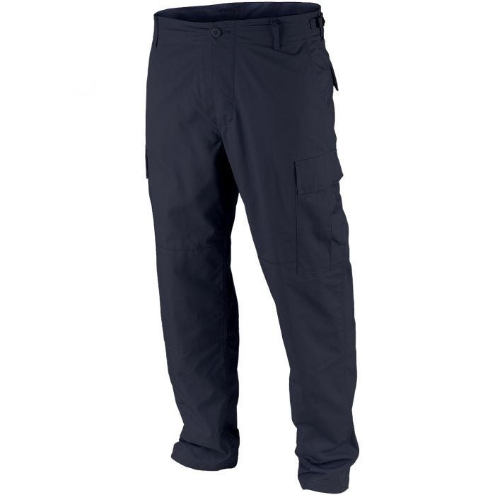 Teesar BDU Trousers Ripstop Navy Blue