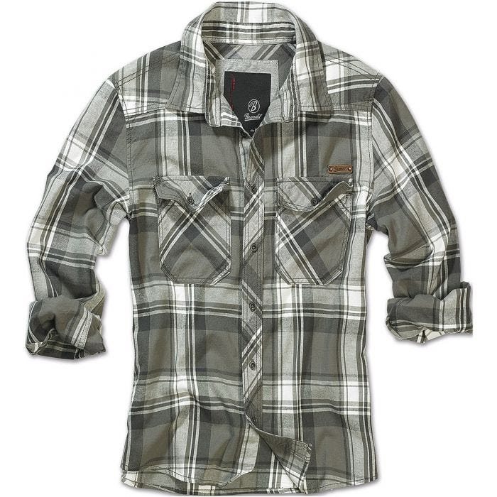 Brandit Check Shirt Olive