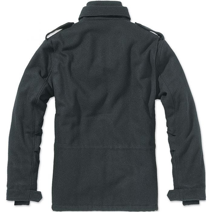 Brandit M-65 Voyager Wool Jacket Black