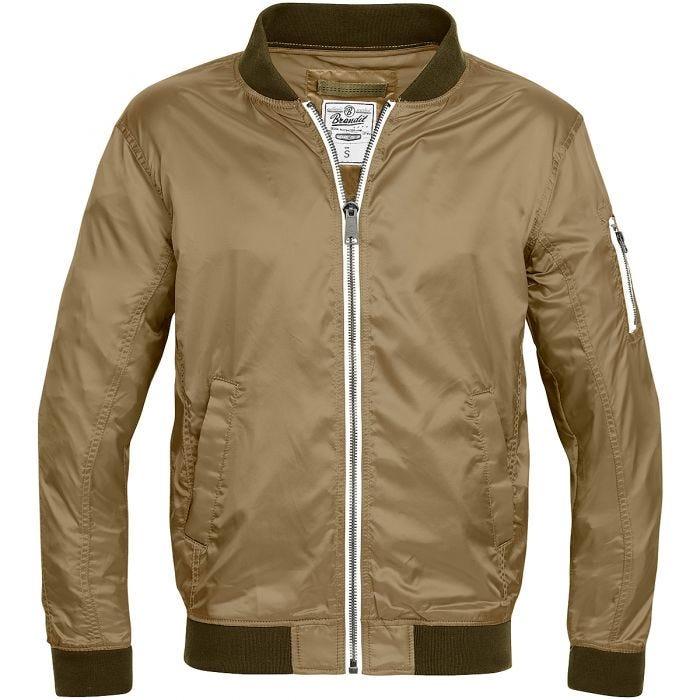0626880315 Brandit Portland Jacket Camel