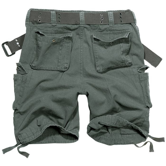 Brandit Savage Vintage Shorts Anthrazit