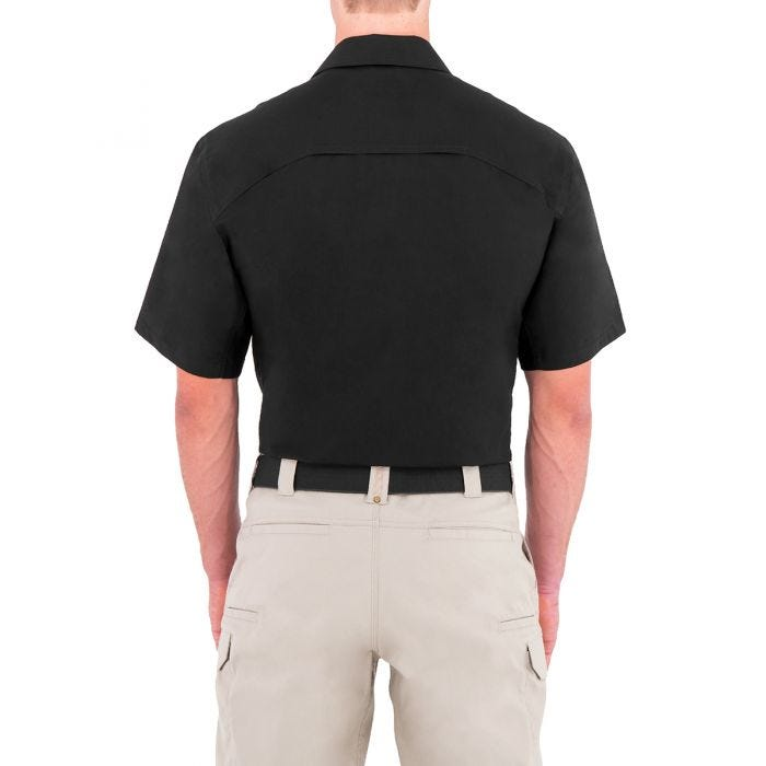 First Tactical Men's Specialist Short Sleeve BDU Shirt Black