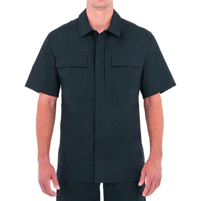 First Tactical Men's Specialist Short Sleeve BDU Shirt Midnight Navy