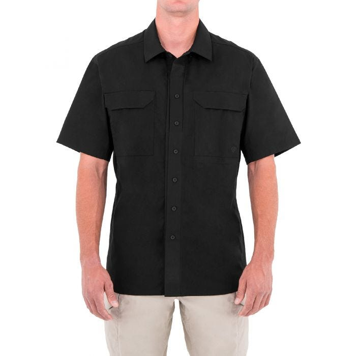 First Tactical Men's Specialist Short Sleeve Tactical Shirt Black
