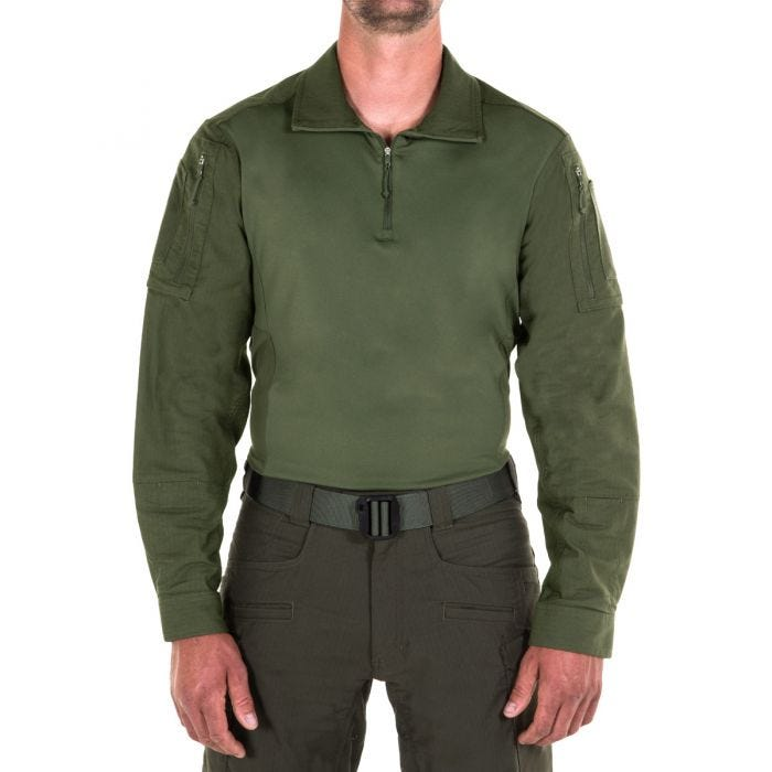 First Tactical Men's Defender Shirt OD Green