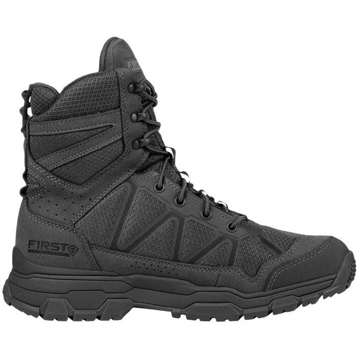 """First Tactical Men's 7"""" Operator Boots Black"""