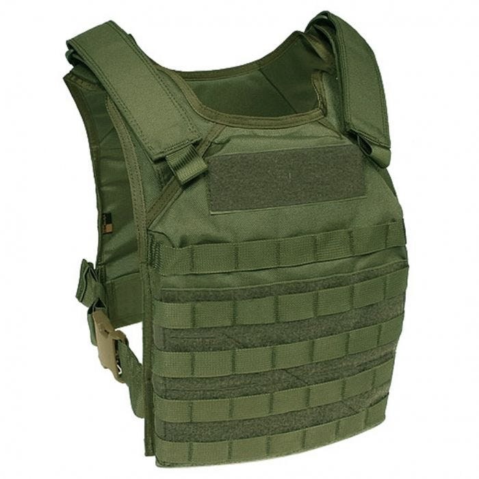Flyye Fast Attack Plate Carrier GEN 1 MOLLE Olive Drab