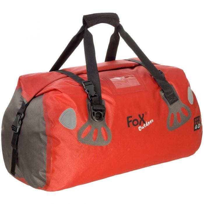 fox outdoor waterproof duffle bag dry pak 40 red 1.jpg 45c22e1ffd78d