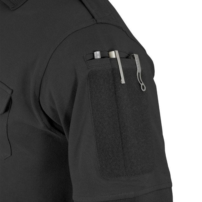 Hazard 4 Quickdry LEO Uniform Replacement Battle Polo Shirt Black