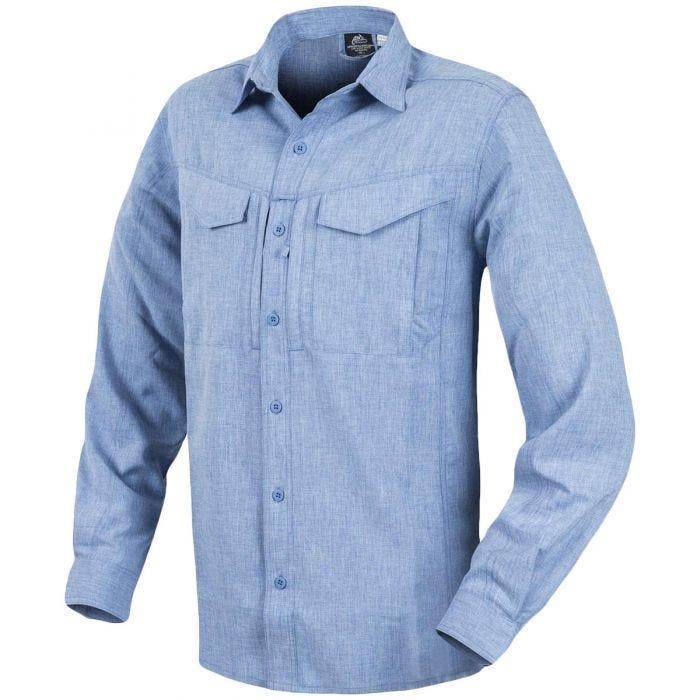 Helikon Defender Mk2 Gentleman Long Sleeve Shirt Melange Light Blue