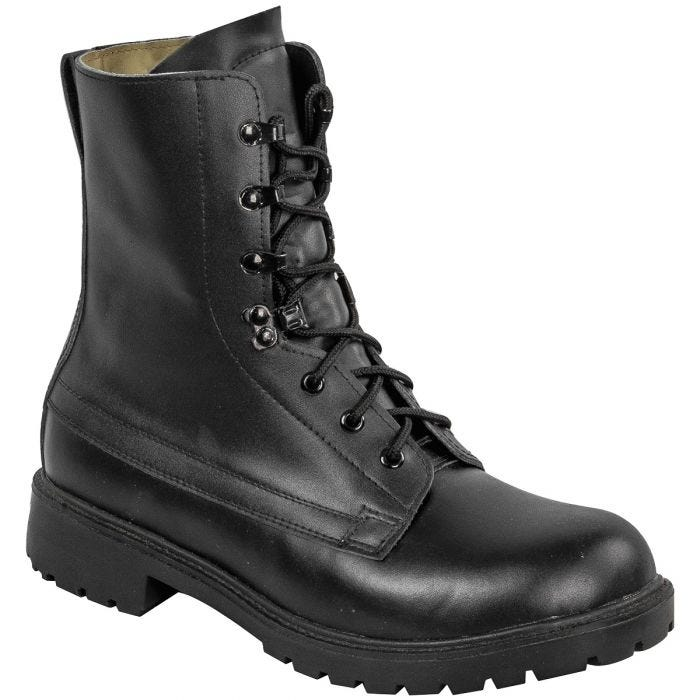 Highlander Ranger Assault Boots Black