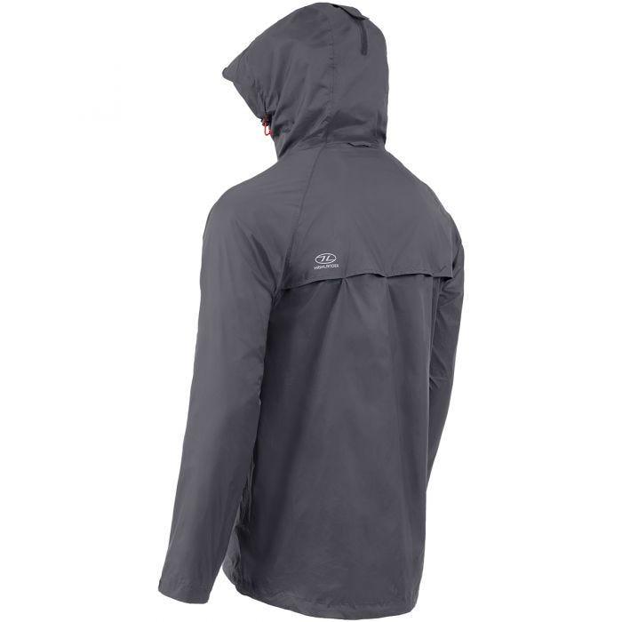 Highlander Stow & Go Packaway Jacket Charcoal