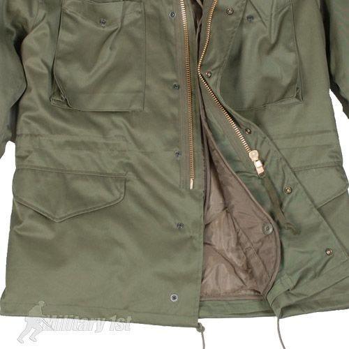Mil-Tec Classic US M65 Jacket Olive