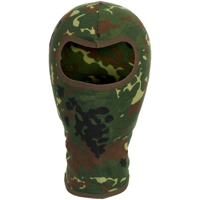 MFH 1 Hole Balaclava Lightweight Cotton Flecktarn