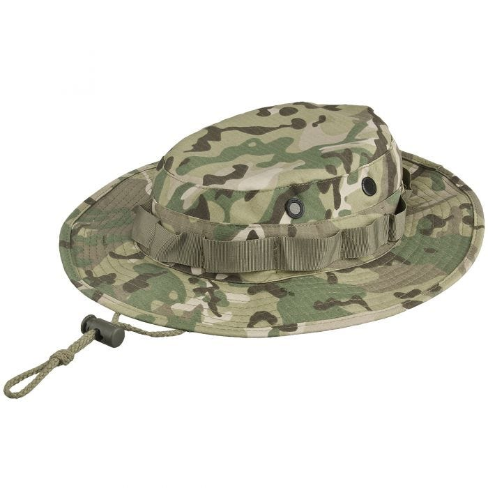 MFH GI Ripstop Bush Hat Operation Camo
