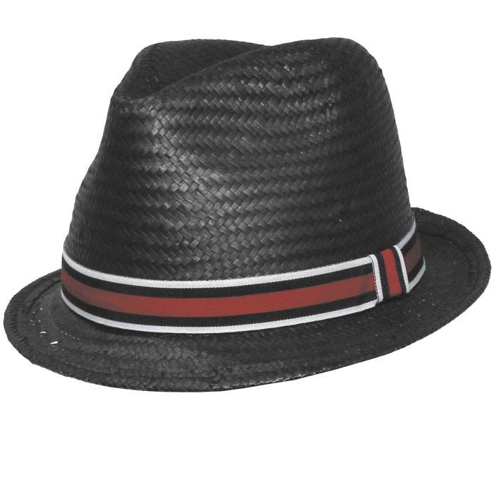 Fox Outdoor Players Hat Thin Brim Black/Red