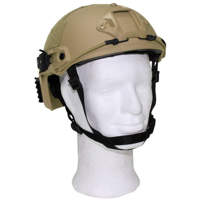 """MFH US Helmet """"FAST"""" Coyote"""