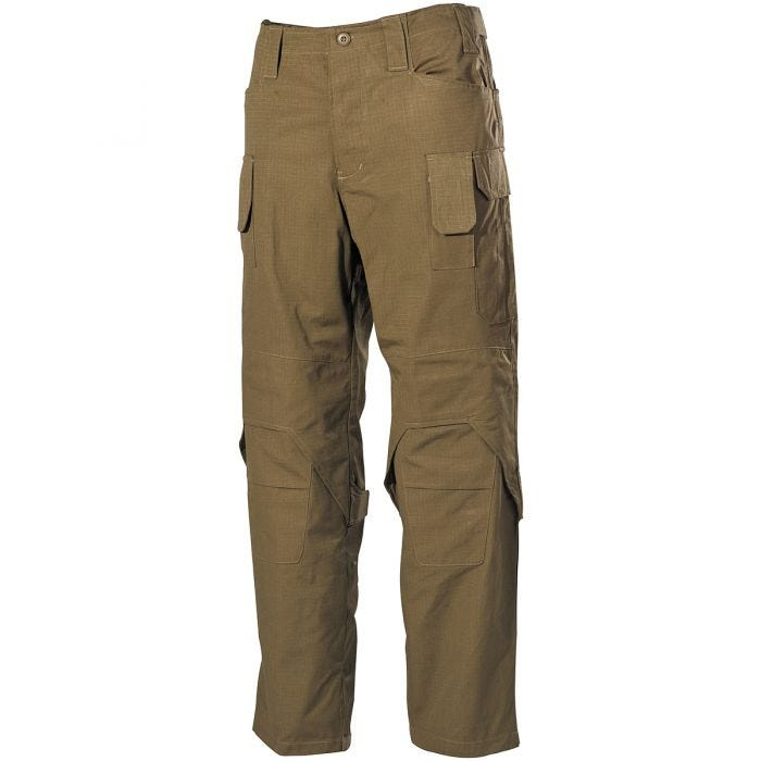 MFH Mission Combat Trousers Ripstop Coyote