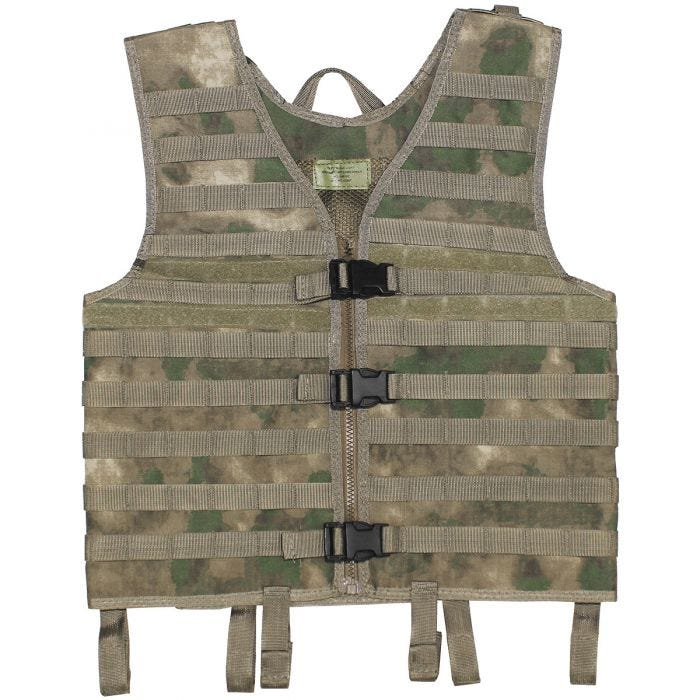 MFH Vest MOLLE Light HDT Camo FG