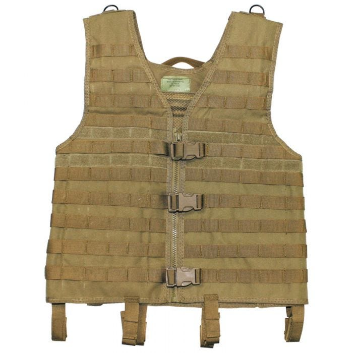 MFH Vest MOLLE Light Coyote
