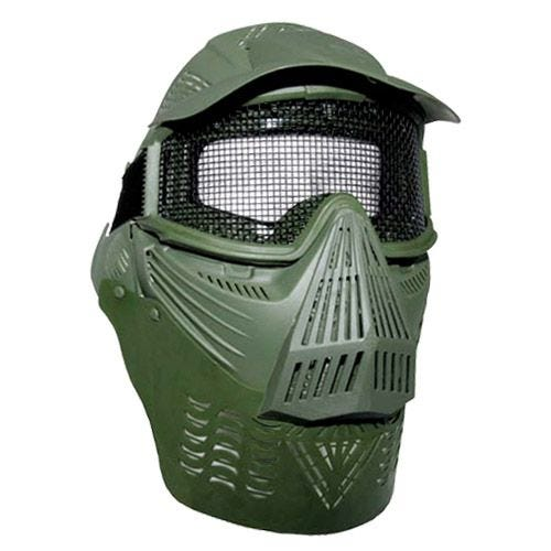 MFH Visual Protection Mask Paintball Olive