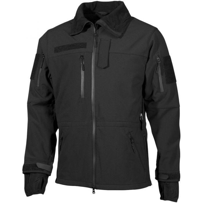 MFH High Defence Softshell Jacket Black