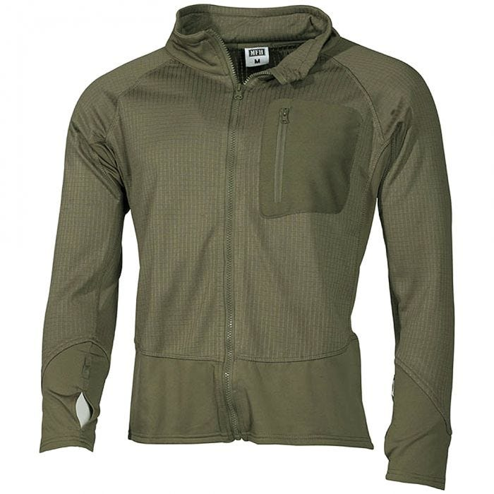 MFH US Tactical Soft Shell Jacket Olive