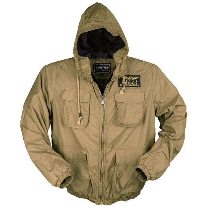 Mil-Tec Air Force Jacket Coyote