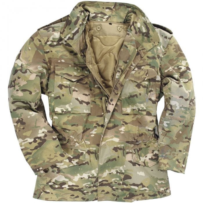 Mil-Tec Classic US M65 Jacket Multitarn