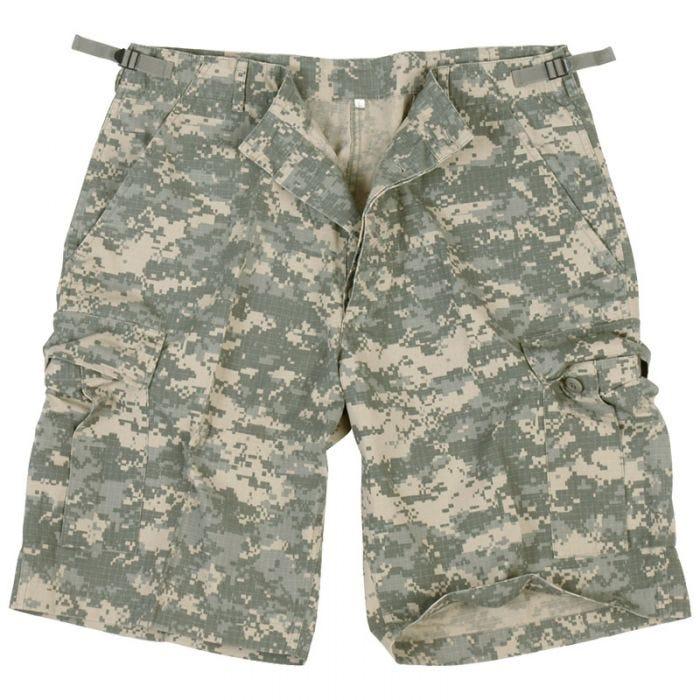 US Prewashed Ripstop Bermuda Shorts ACU Digital