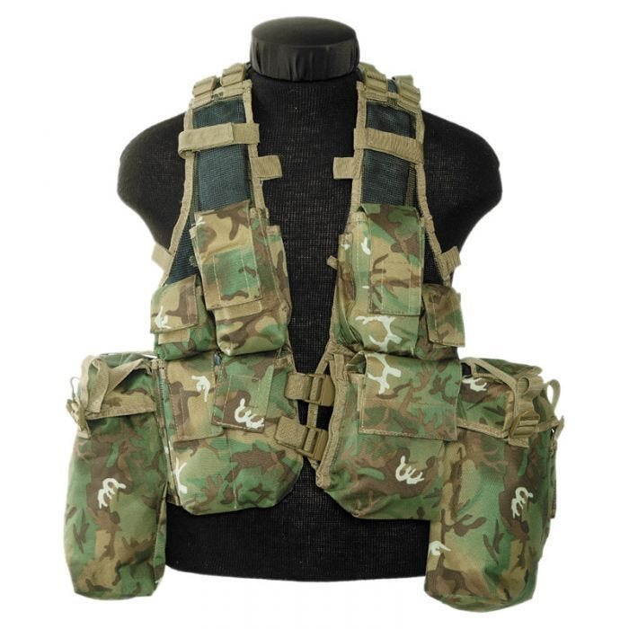 Mil-Tec South African Assault Vest Arid Woodland