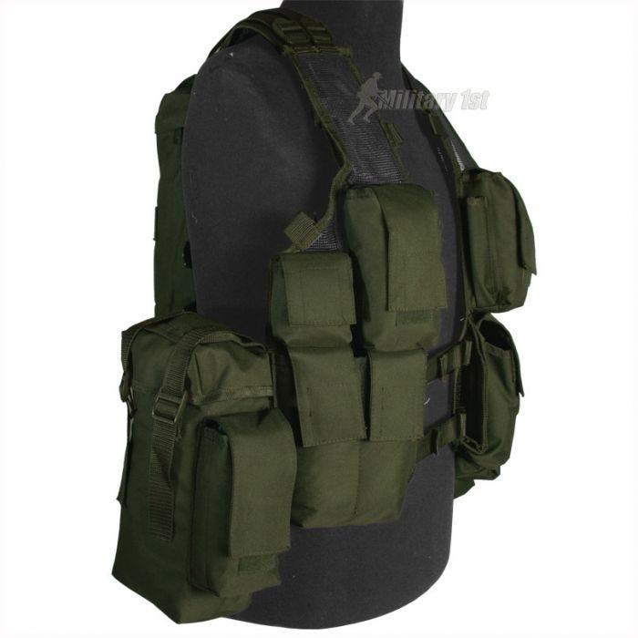 Mil-Tec South African Assault Vest Olive