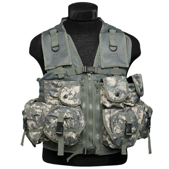 Mil-Tec Ultimate Assault Vest ACU Digital