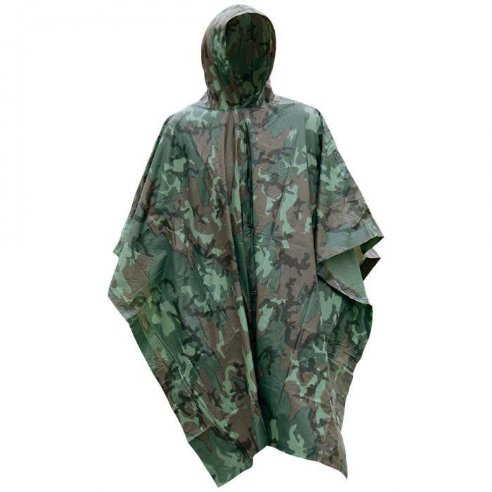 Mil-Tec Vinyl Poncho Camouflage