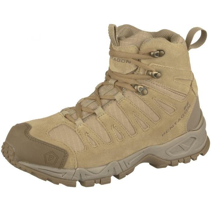 "Pentagon Achilles 6"" Trekking Boots Coyote"