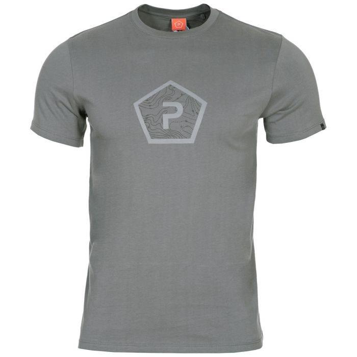 Pentagon Ageron T-Shirt Pentagon Shape Wolf Grey