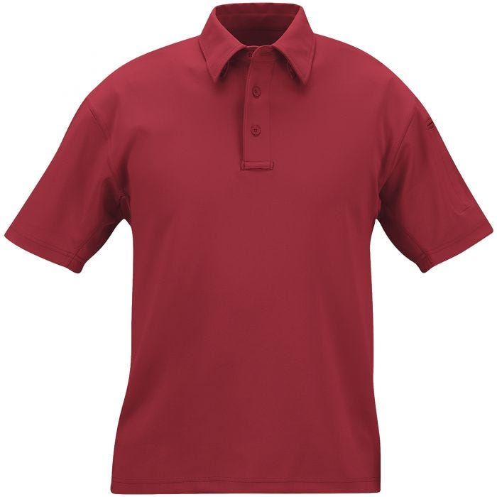 Propper I.C.E. Men's Performance Short Sleeve Polo Burgundy