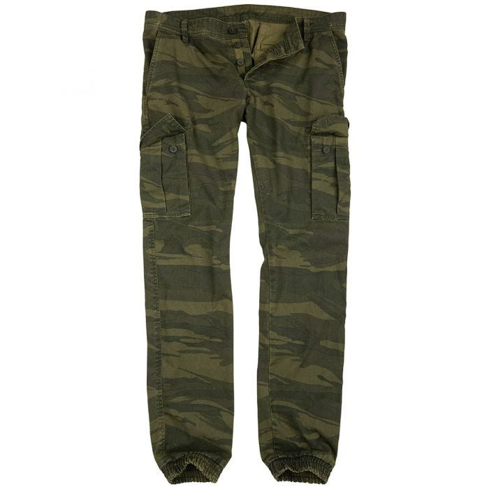 Surplus Bad Boys Pants Green Camo