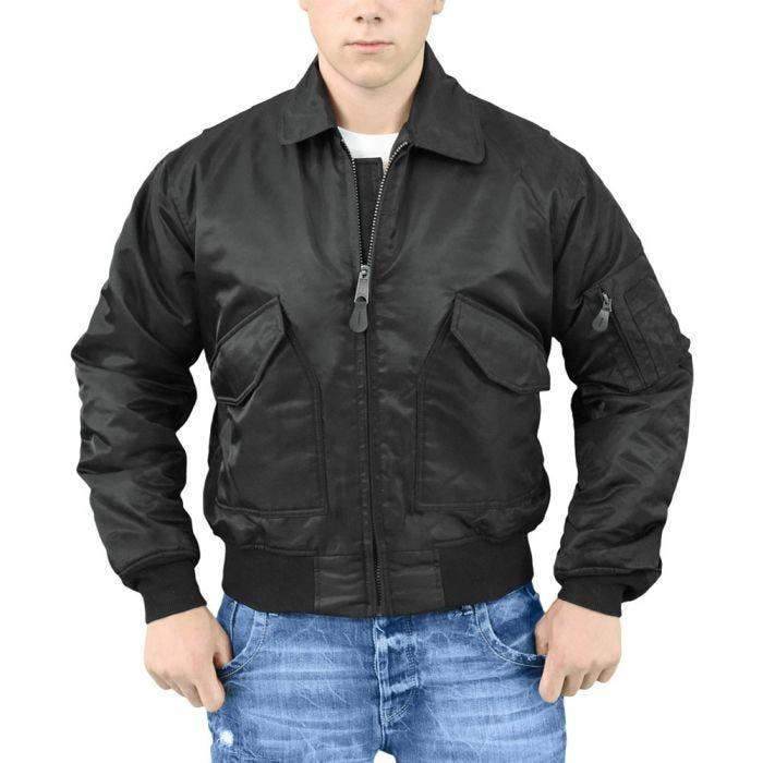Surplus CWU Flight Jacket Black 9f926081f9
