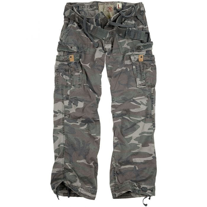 Surplus Premium Vintage Trousers Woodland