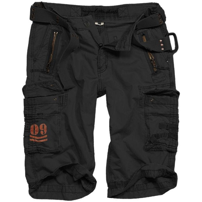 Surplus Royal Shorts Royal Black
