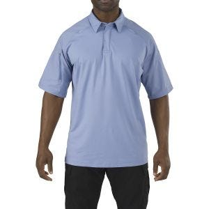 5.11 Rapid Performance Polo Short Sleeve Fire Med Blue