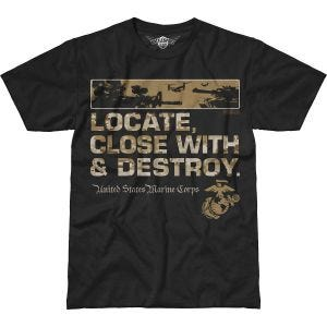 7.62 Design USMC Locate Battlespace T-Shirt Black