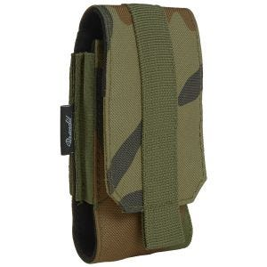 Brandit MOLLE Phone Pouch Medium Woodland